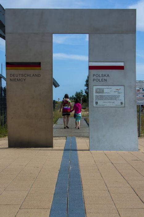Grenzübergang Swinemünde