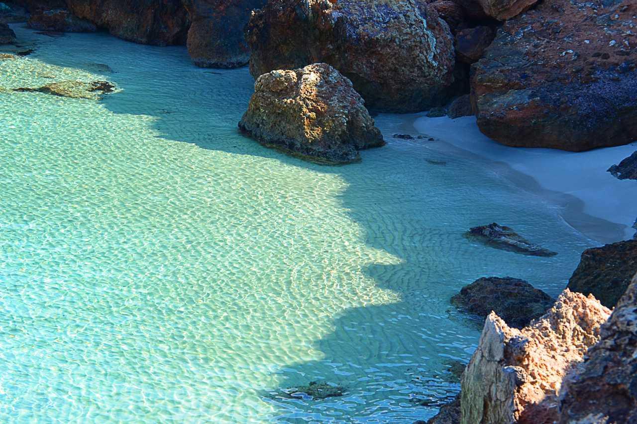 Kleine Badebucht Ibiza