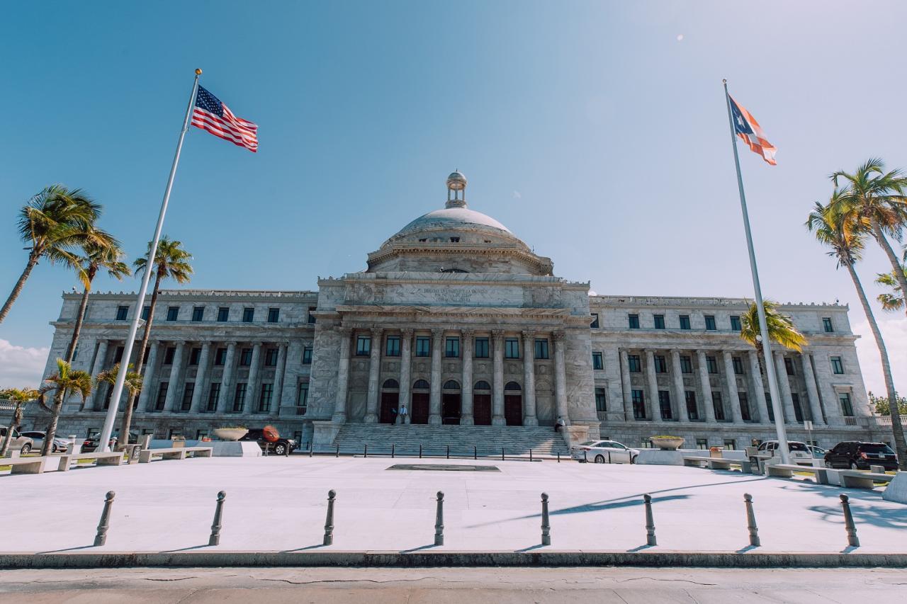 Parlamentsgebäude Puerto Rico