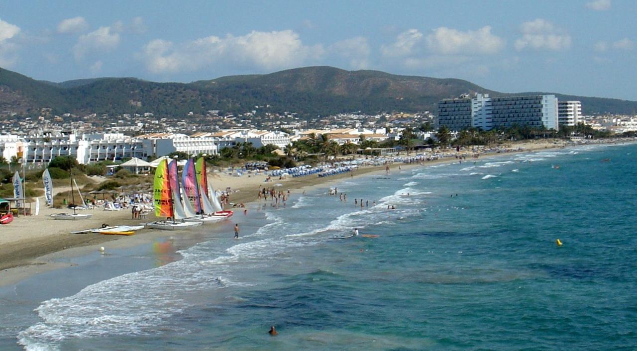 Playa d'en Bossa Strand