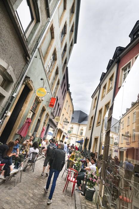 Rue du Nord Luxemburg-City