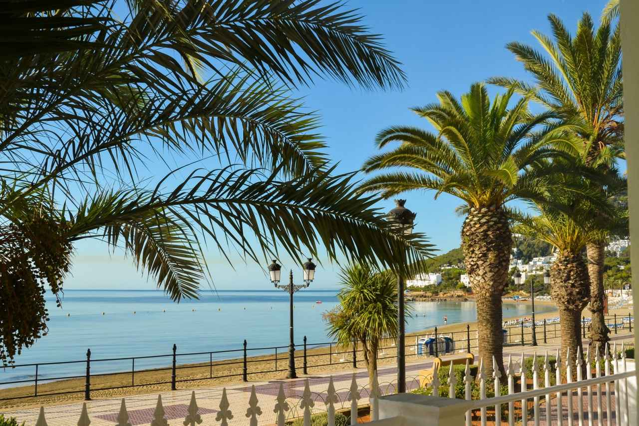 Santa Eulalia Promenade Strand