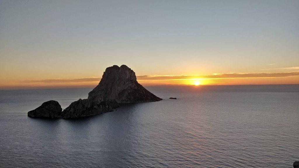 Sonnenuntergang Es Vedra