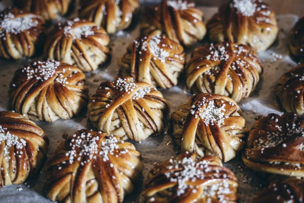 Zimtschnecken aus Schweden