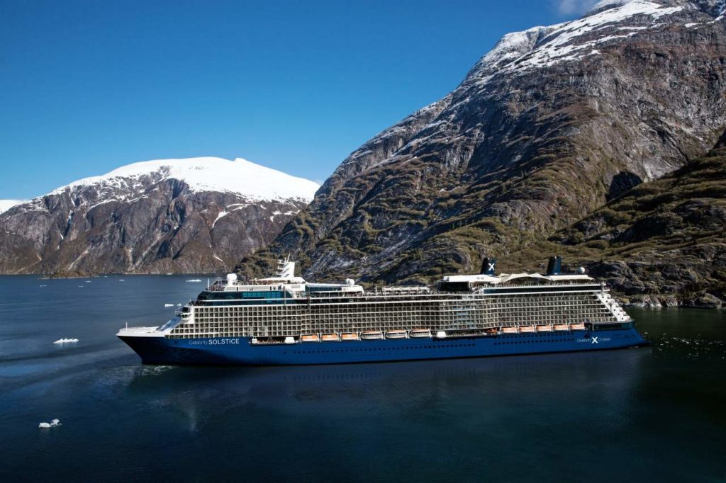 Celebrity Solstice Tracy Arm Fjord