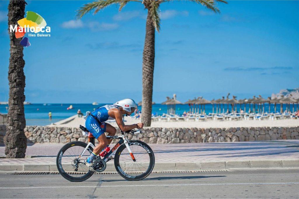 Challenge Peguera Rennradfahrer