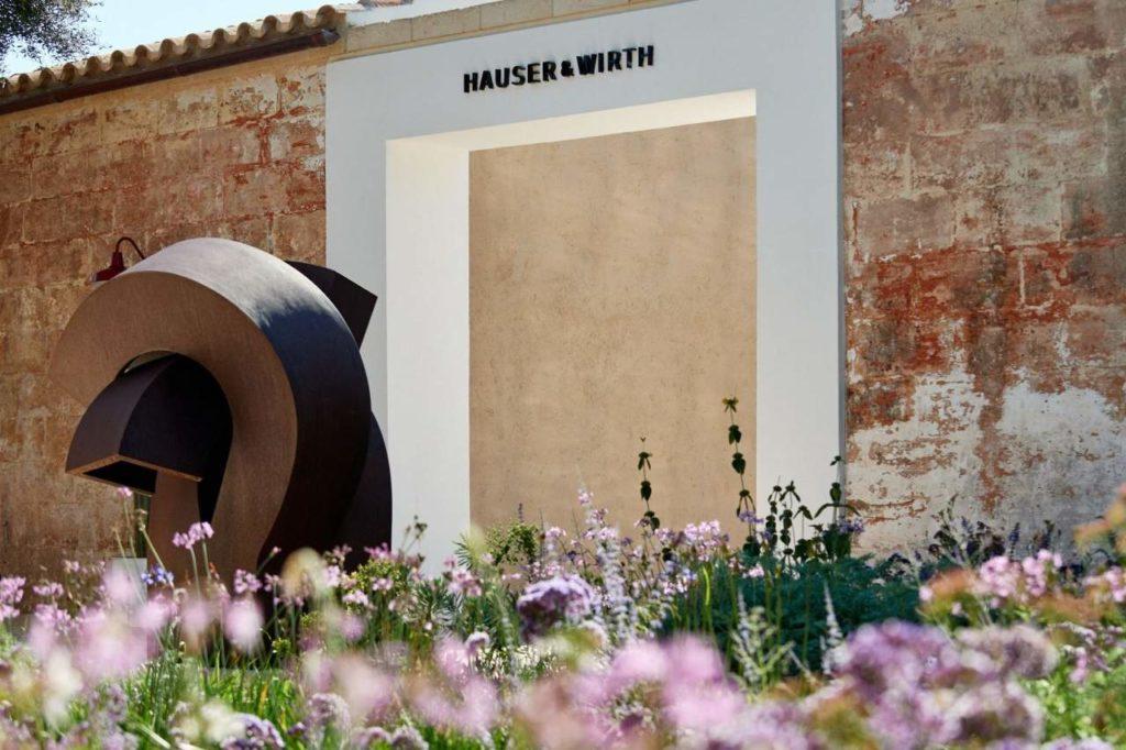 Garten Kunstzentrum Hauser und Wirth Menorca
