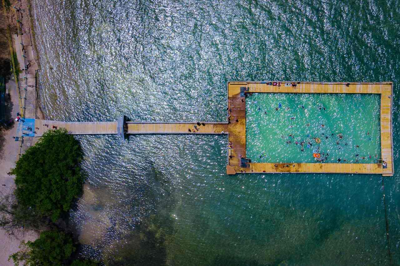 Playita Rosada Puerto Rico aus der Luft