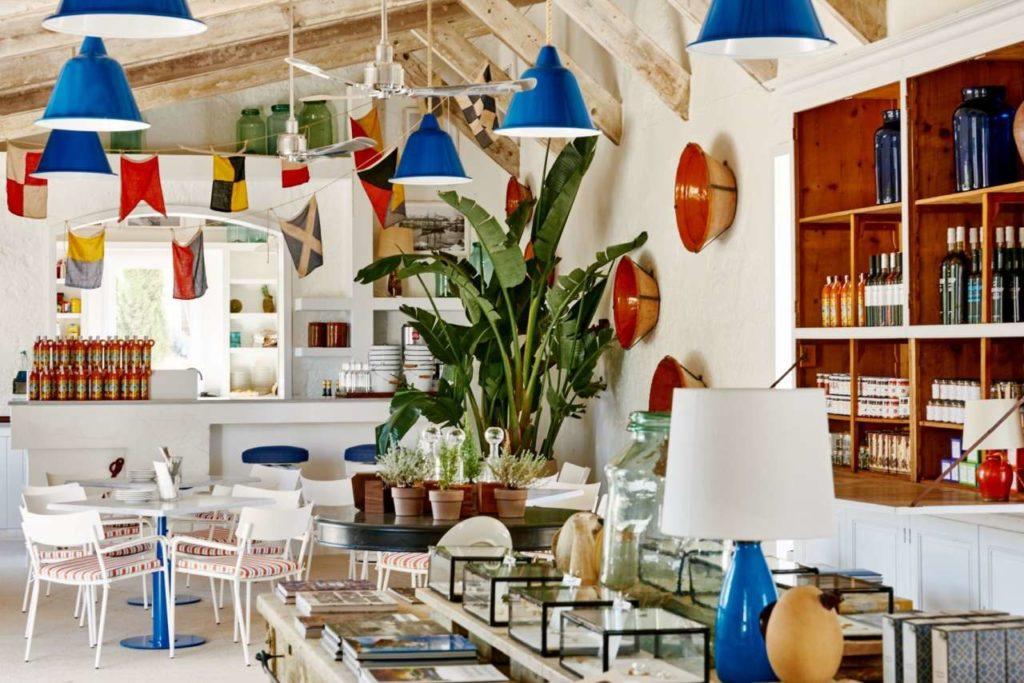 Restaurant Cantina in Hauser und Wirth Menorca