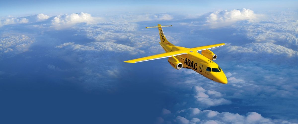 ADAC Jet Krankenrücktransport
