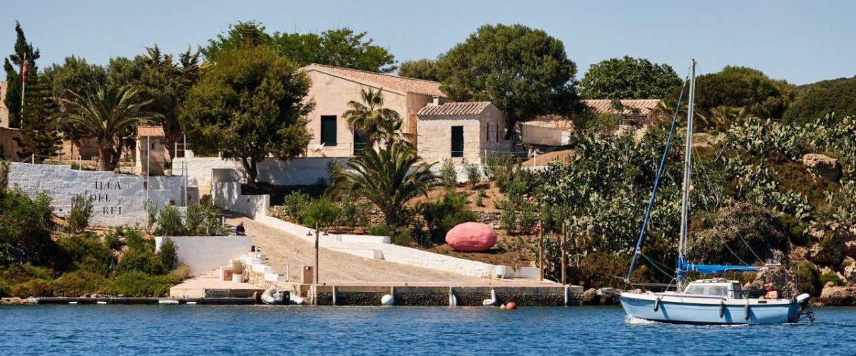 Anlegestelle Illa del Rei Menorca