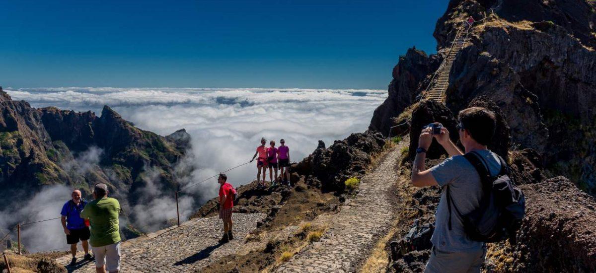 Aussichtspunkt auf dem Wanderweg Vereda do Pico de Areeiro