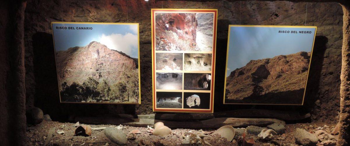 Ausstellungsstücke Museo de Guayadeque