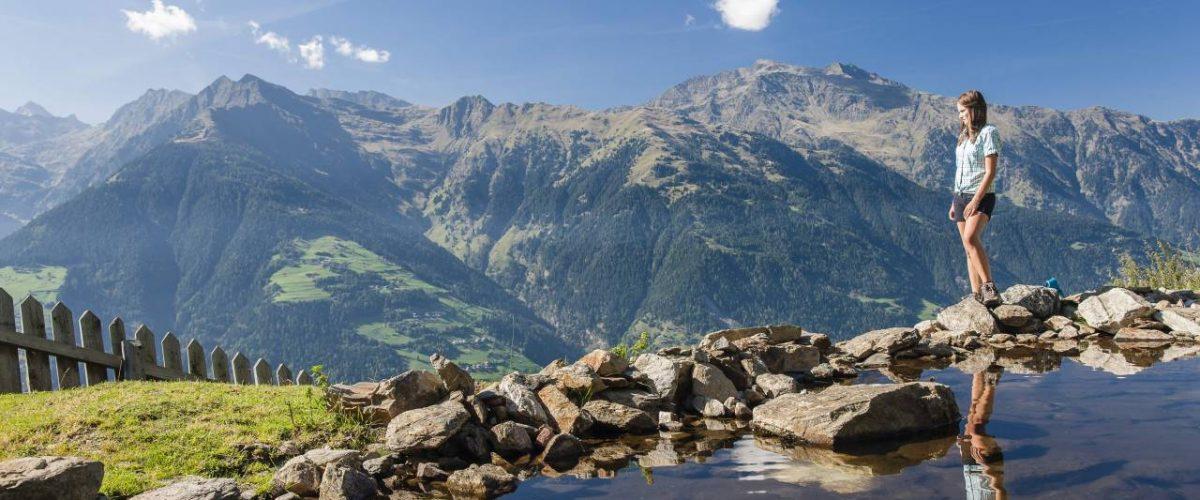 Bergsee in Schenna