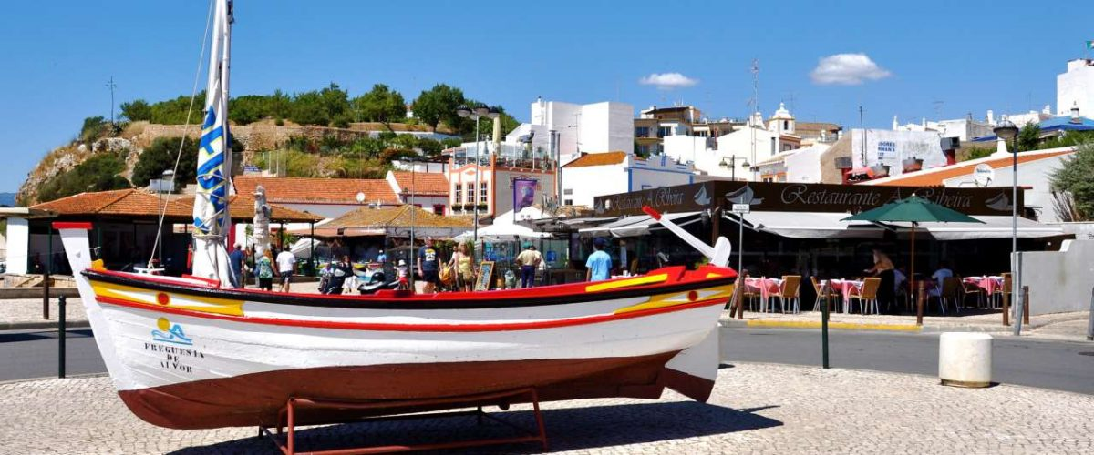 Boot Hafen Alvor