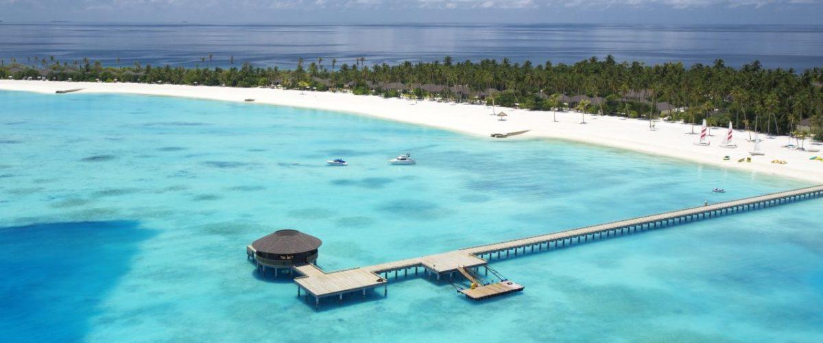 Bootsanlegesteg Atmosphere Kanifushi Maldives