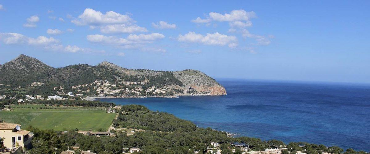 Bucht von Canyamel auf Mallorca