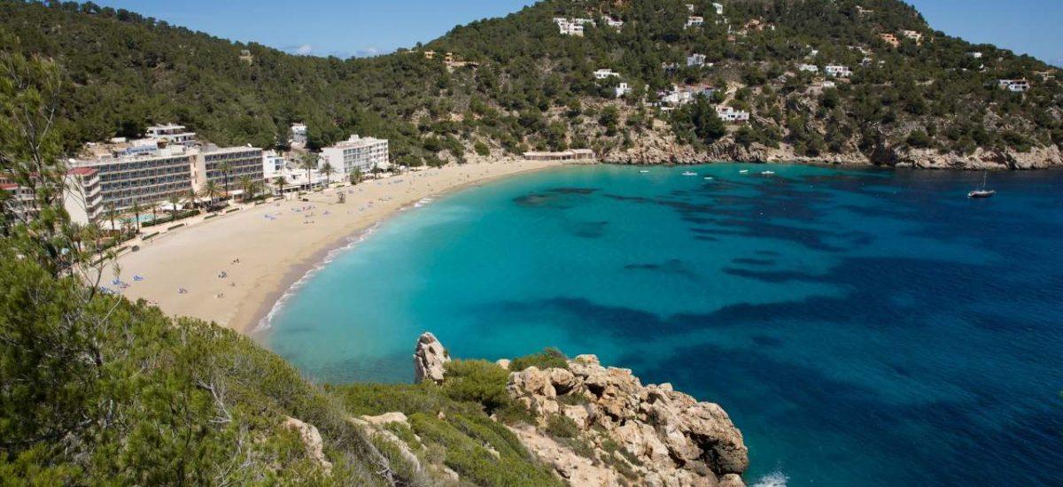 Cala de Sant Vicent Ibiza Bucht