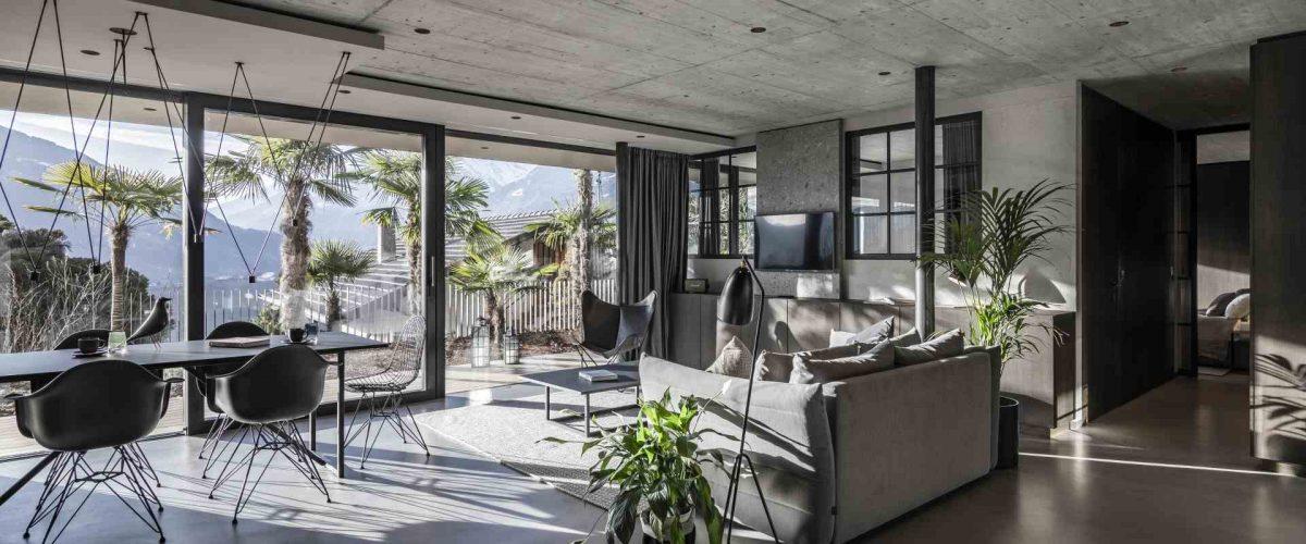 Cooler New Yorker Fabrik-Style im Apartment 7 in Schenna