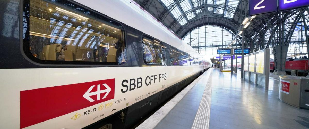 ETR 610 der SBB am Frankfurter Hauptbahnhof