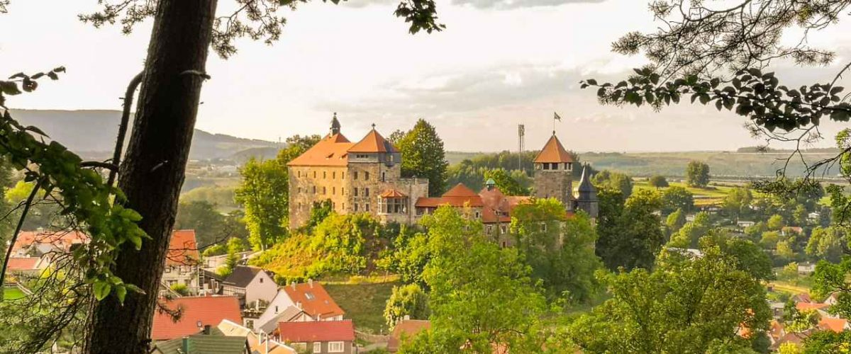 Edvard-Munch-Rundwanderweg Schloss Elgersburg