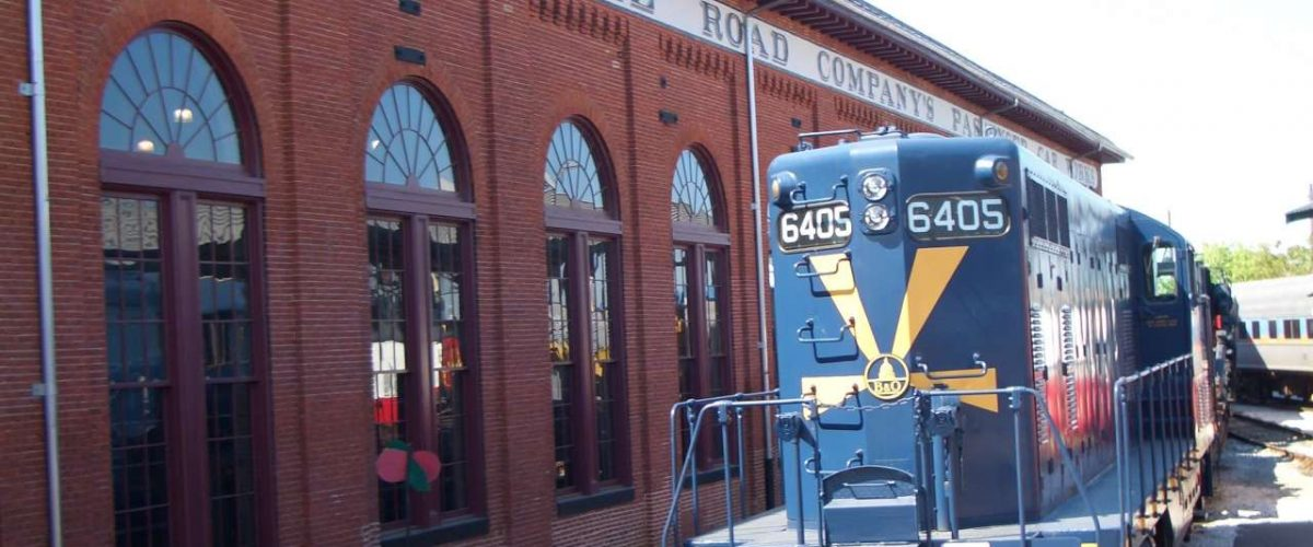 Eisenbahn Baltimore and Ohio Railroad Museum