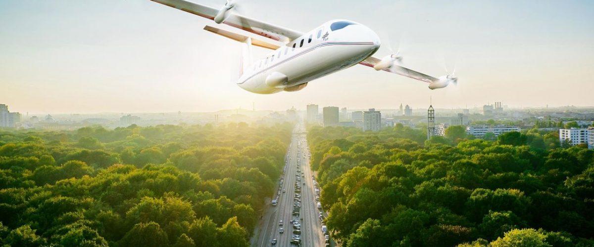Elektrischer Senkrechtstarter für 19 Passagiere
