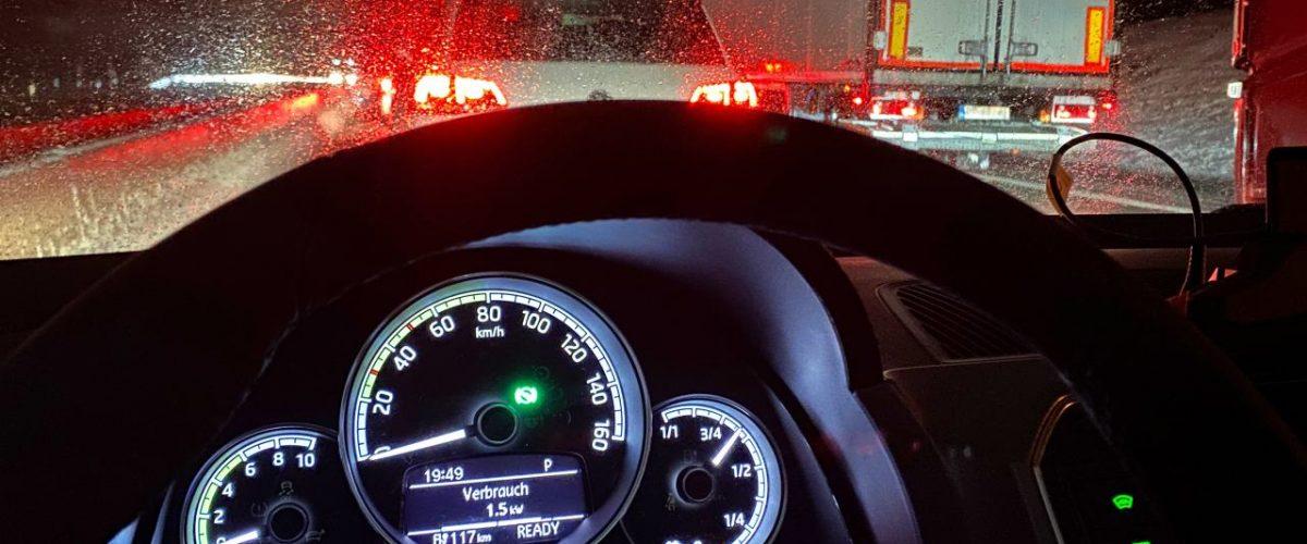 Elektro-Auto im Kälte-Test