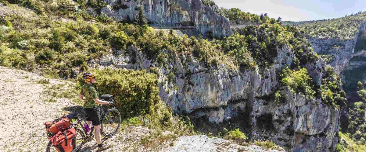 Fahrradrunde um den Mont Ventoux