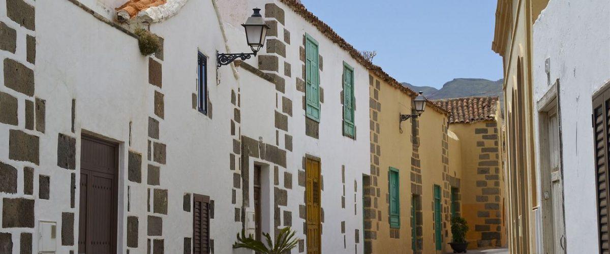 Gasse in Agüimes Gran Canaria