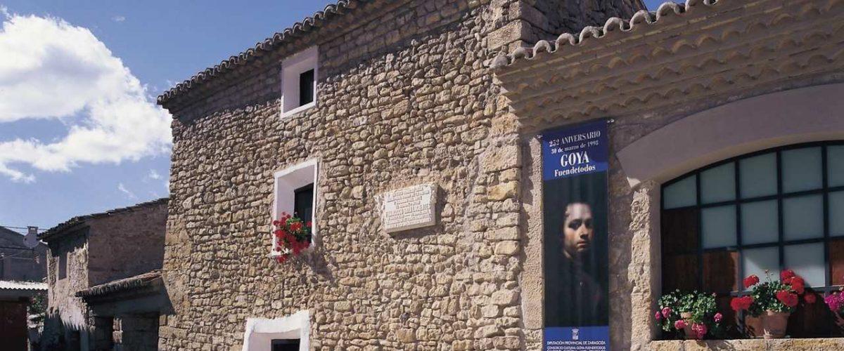 Geburtshaus von Francisco de Goya in Fuendetodos