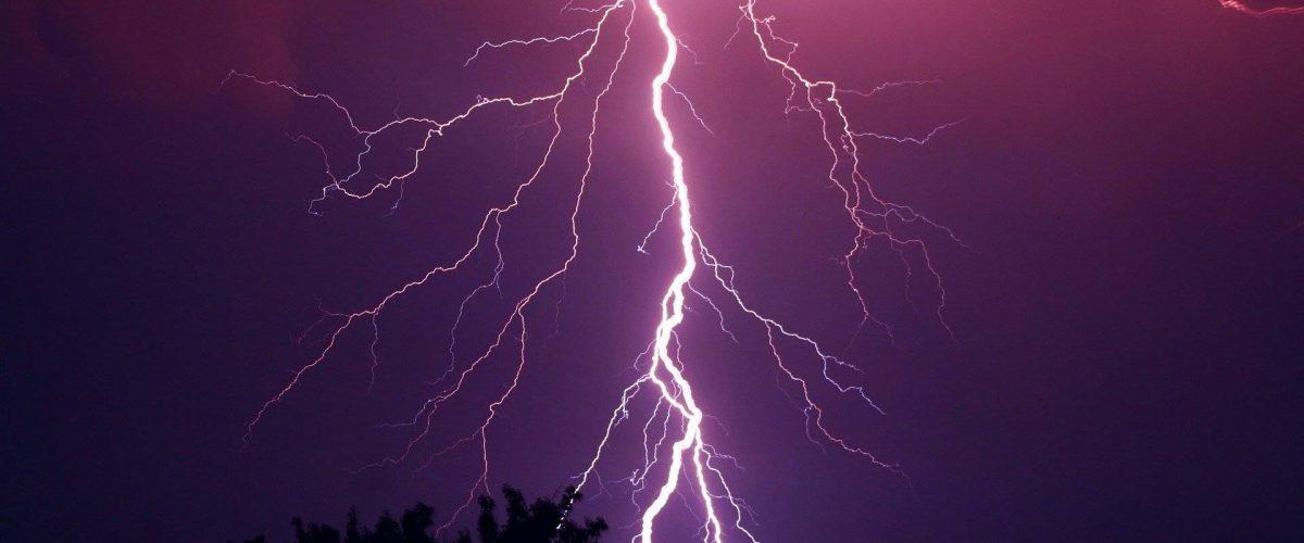 Gewitter Blitzeinschlag