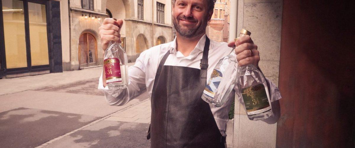 Gin aus der Brennerei Purity
