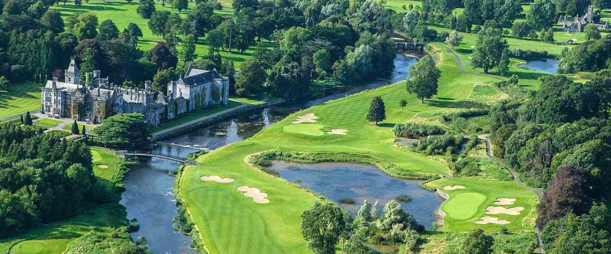 Golf Resort Adare Manor aus der Luft