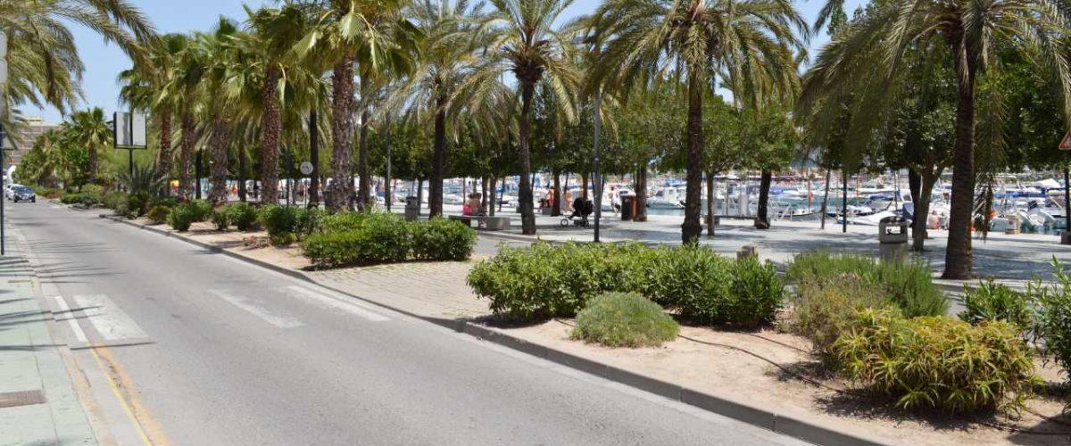 Hafenpromenade Sant Antoni de Portmany