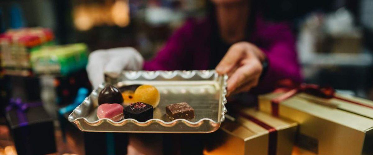 Irische Schokoladenspezialitäten
