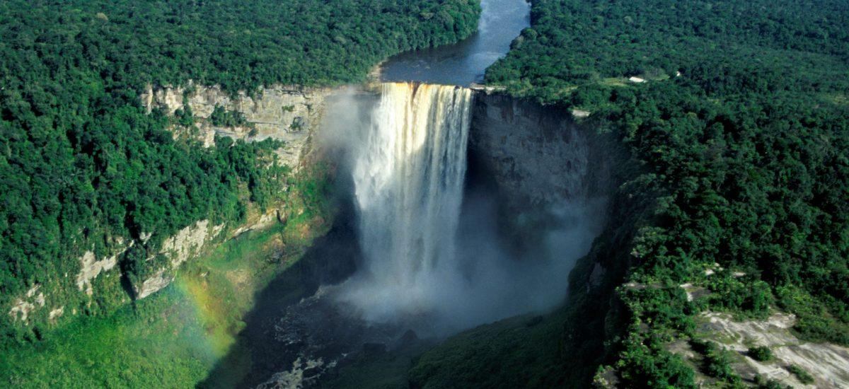 Kaieteur Falls in Guyana. Bild: GTA.
