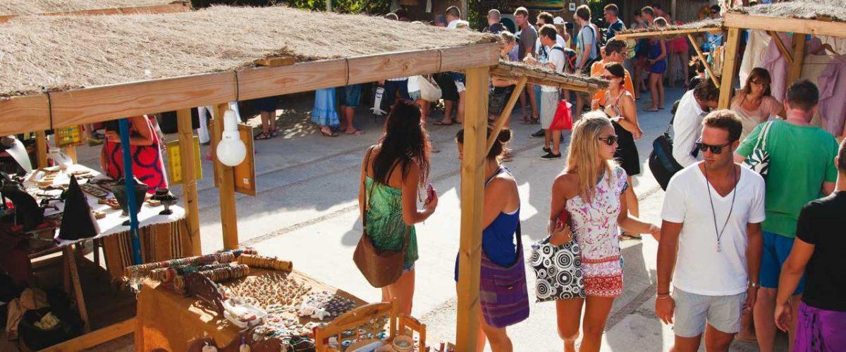Kunsthandwerkermarkt La Mola Formentera