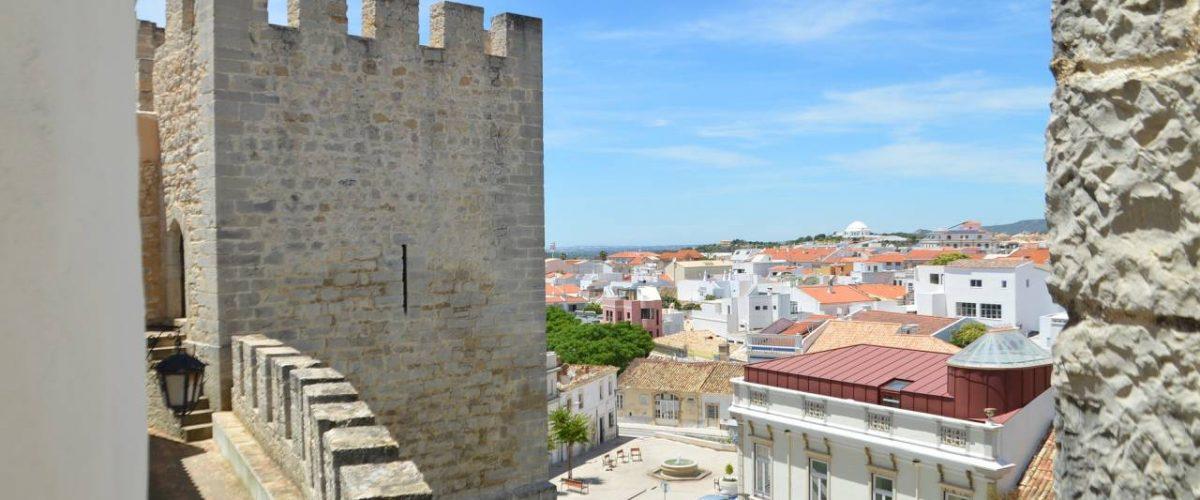 Loulé Burg Stadtmauer