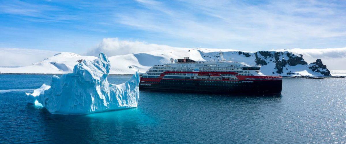 MS Roald Amundsen Antarktis Forschung