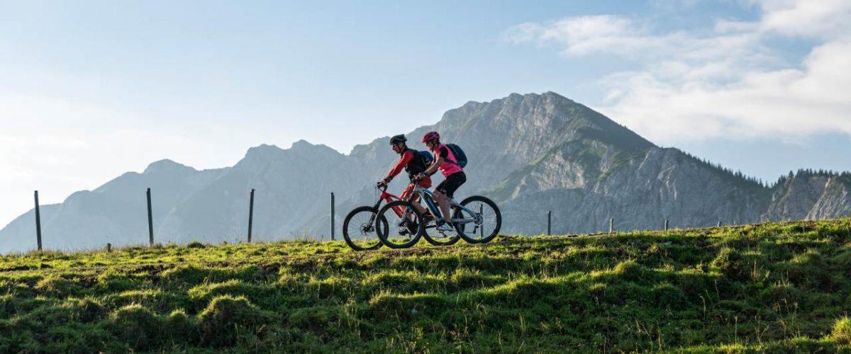 Mountainbiker Bergwelt Pfronten