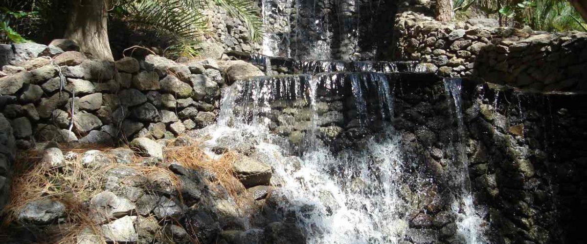 Palmitos Park Wasserfall
