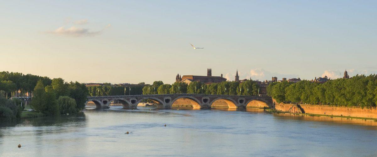 Pont neuf - älteste Brücke von Toulouse