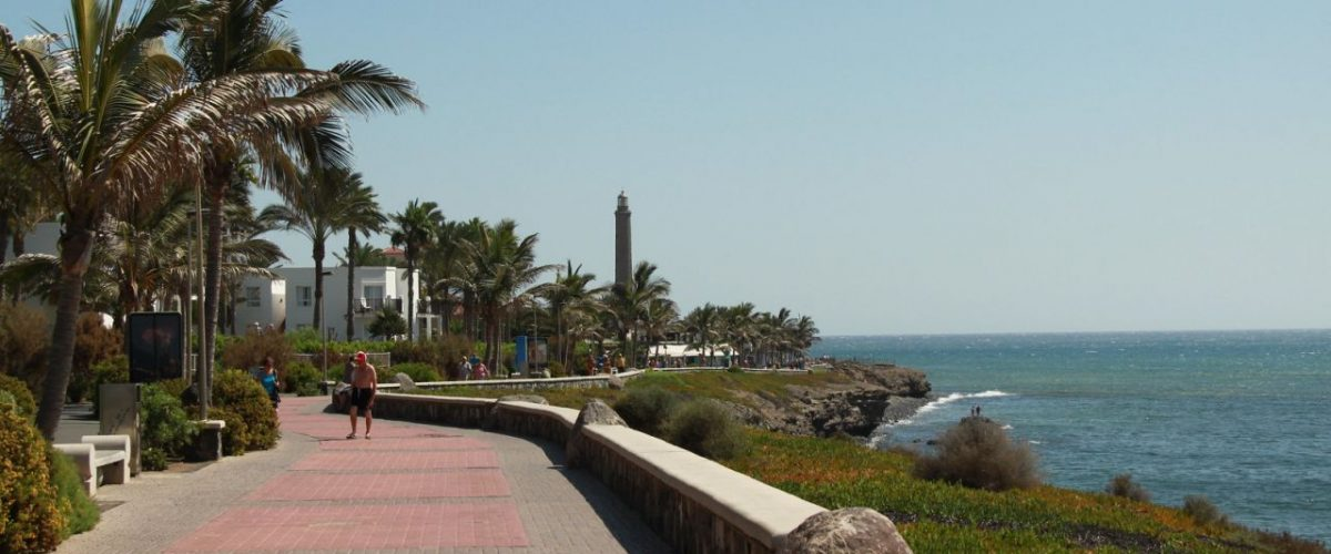 Promenade bei Costa Meloneras