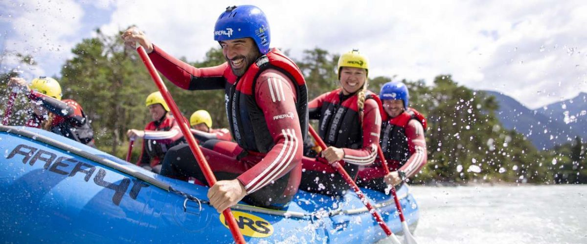 Rafting-Tour AREA 47