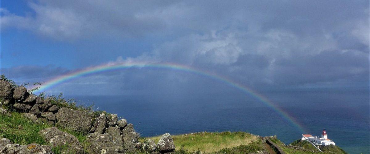 Regenbogen Santa Maria Azoren