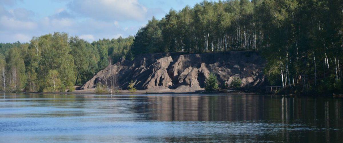 See im Geopark Muskauer Faltenbogen
