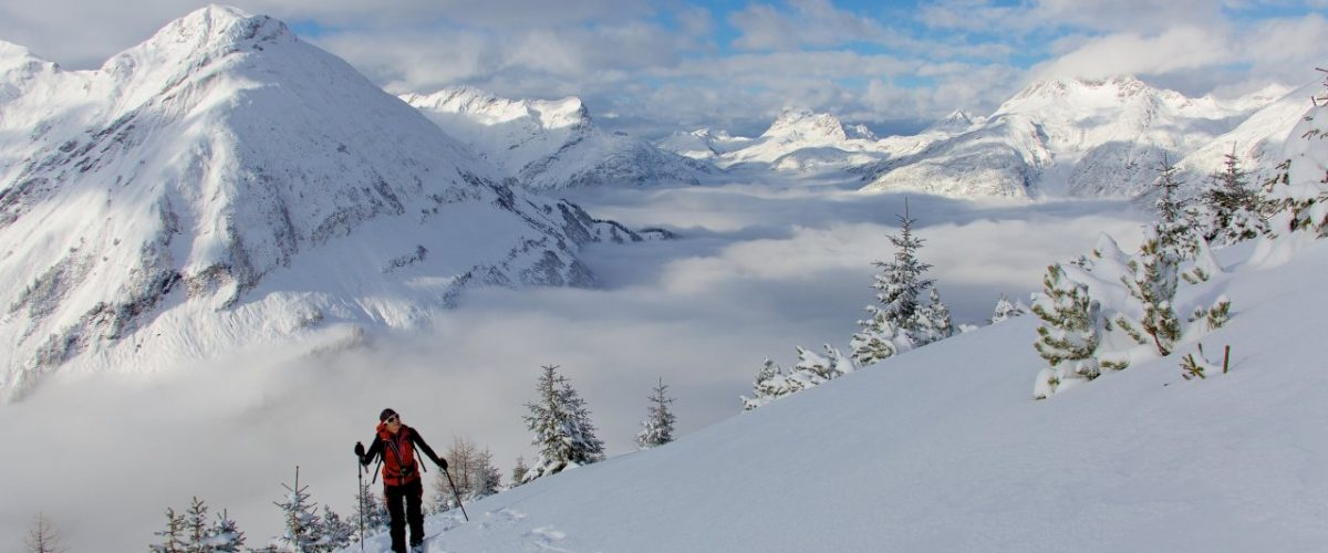 Skitour abseits der Piste Tiroler Lechtal
