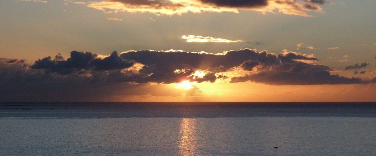 Sonnenaufgang vor Gran Canaria