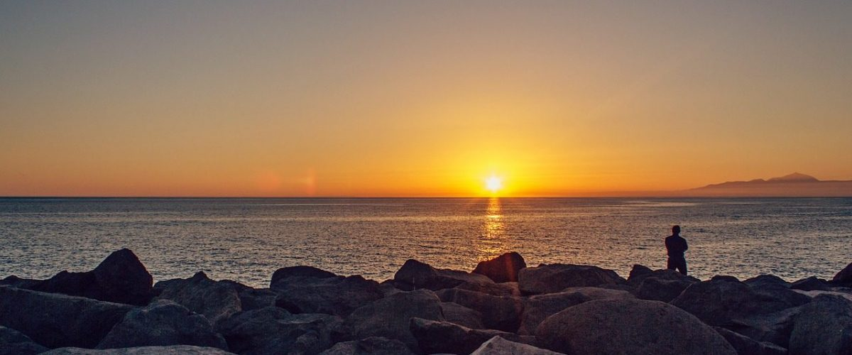 Sonnenuntergang Westküste Gran Canaria